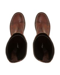 Dune - Brown 'tilnney' Knee High Panel Boots - Lyst