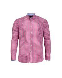 Raging Bull - Pink Men's Small Check Shirt for Men - Lyst