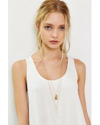 Urban Outfitters | Metallic Kc Crystal Layering Necklace Set | Lyst