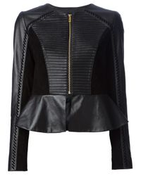 Alice By Temperley - Black Giovanni Leather Jacket - Lyst