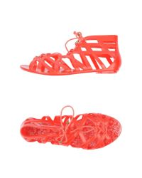 Colors Of California | Red Sandals | Lyst