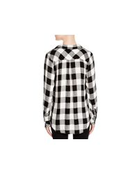 Rails - Black Hunter Check Shirt - Lyst