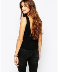 Free People | Double Bubble Top In Black | Lyst