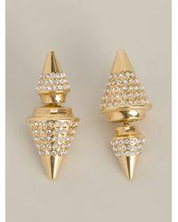 Vita Fede - Metallic Double Titan Earrings - Lyst