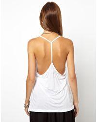 Cheap Monday - White Vest - Lyst