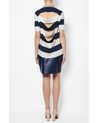 Derek Lam - Blue Striped Sweater - Lyst