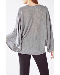 BCBGMAXAZRIA - Gray Shania Pullover Sweater - Lyst