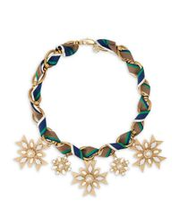 Tory Burch | Multicolor Selma Necklace | Lyst