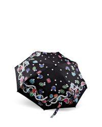 Boutique Moschino | Black Mini Umbrella | Lyst