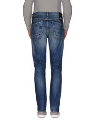 Denham | Blue Denim Trousers for Men | Lyst