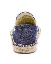 Soludos | Blue X Lemlem Smoking Slipper Espadrilles | Lyst