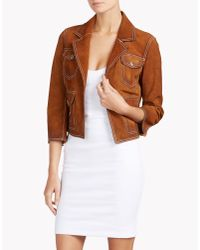 DSquared² | Brown Jacket | Lyst