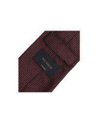 Dell'Oglio - Red Silk Tie for Men - Lyst
