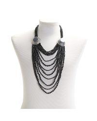Night Market - Black Necklace - Lyst