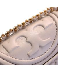 Tory Burch - Natural Beige Leather Fleming Bag - Lyst