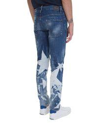 DSquared² - Washed Blue Denim Big Stars Jeans for Men - Lyst