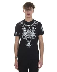 Givenchy | Printed Black Cotton T-shirt for Men | Lyst