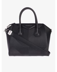 94a588e38d8d Givenchy Small Antigona Leather Bag in Black - Lyst