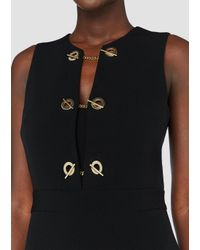 10 Crosby Derek Lam - Black Sleeveless Jumpsuit With Grommet Detail - Lyst