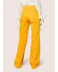 Derek Lam | Multicolor Wide Cuff Trouser | Lyst