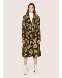 Derek Lam | Multicolor Long Tailored Notch Lapel Coat | Lyst
