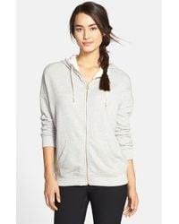 Alternative Apparel - Gray Organic Cotton Hoodie - Lyst
