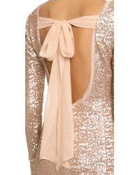 Rachel Zoe - Pink Sequin Mini Dress - Lyst