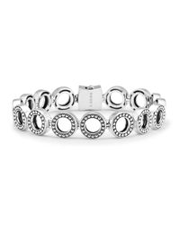 Lagos | Metallic Enso Sterling Silver Multi Link Bracelet | Lyst