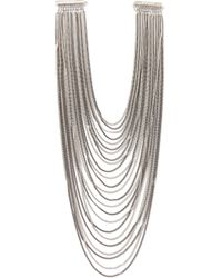Rosantica | Metallic Multi Chain Necklace | Lyst