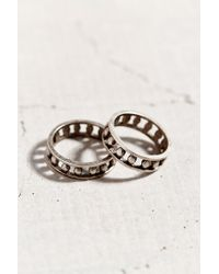 Urban Outfitters | Metallic Castle Gates Ring Set | Lyst