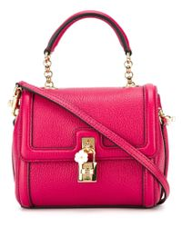 Dolce & Gabbana - Pink 'dolce' Tote - Lyst