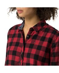 Tommy Hilfiger | Red Saletta Shirt | Lyst