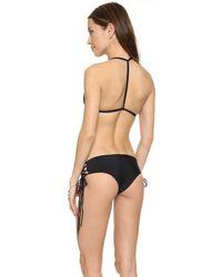 Mikoh Swimwear - Black Uluwatu Bikini Top - Night - Lyst