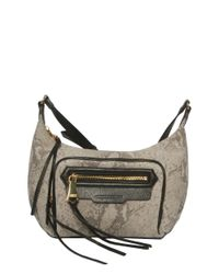 Aimee Kestenberg | Gray Erica Leather Crossbody Bag | Lyst