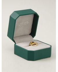 Ruifier - Metallic 'icon' Ring - Lyst