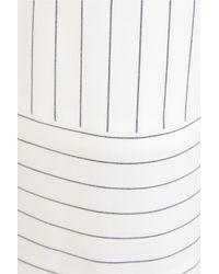 Acne Studios   White Kat Pinstriped Wool-Blend Wide-Leg Pants   Lyst
