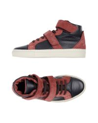 Bensimon - Purple High-tops & Sneakers - Lyst