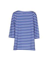 Erika Cavallini Semi Couture - Blue T-shirt - Lyst