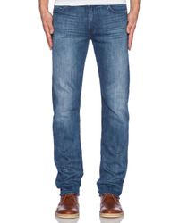 7 For All Mankind | Blue Luxe Performance Slimmy for Men | Lyst