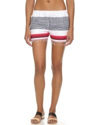 lemlem | Red Lula Shorts | Lyst