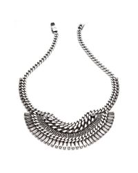 DANNIJO - Metallic Lilith Necklace - Lyst