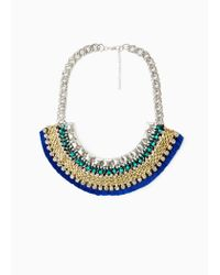 Mango | Multicolor Mixed Bead Necklace | Lyst