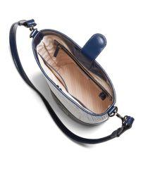 Brooks Brothers | Blue Calfskin Bucket Bag | Lyst