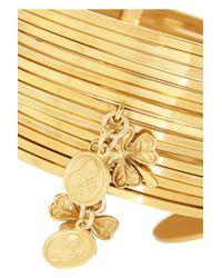 Dolce & Gabbana - Metallic Gold-tone Charm Bracelet - Lyst
