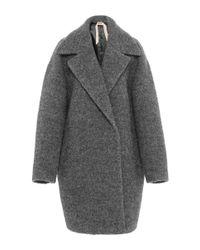 N°21 - Gray Cesira Coat - Lyst