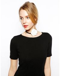 ASOS | Black Limited Edition Corsage Choker Necklace | Lyst