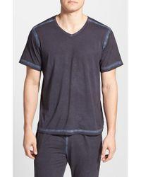 Daniel Buchler - Blue Powder Wash Peruvian Pima Cotton T-Shirt for Men - Lyst