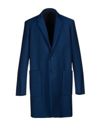 Jil Sander - Blue Full-length Jacket for Men - Lyst