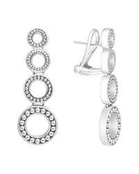 Lagos - Metallic 'enso' Linear Earrings - Lyst