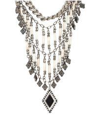 Vanessa Mooney | Metallic The Midnight Statement Necklace | Lyst